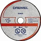 Dremel DSM510 Lot de 3 Disques pour Scie Compacte Dremel DSM20 pour découper métaux, métal et...