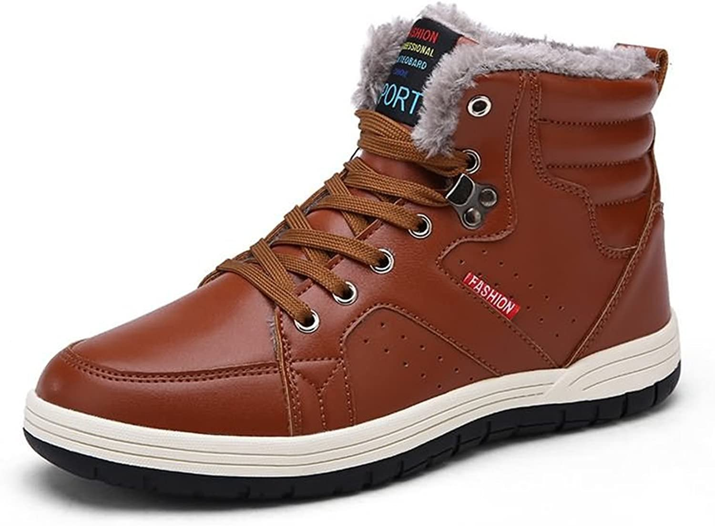 BERTERI Snow Boot Warm Ankle Thicken Rubber Sole Winter Hiking Trekking shoes