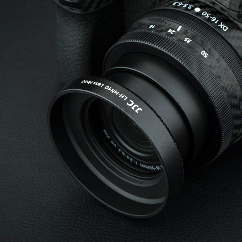 JJC Lot de 3 pare-soleils pour Nikon Z50 Nikon Z DX 50-250 mm f//4.5-6.3 VR et Nikkor Z DX 16-50 mm f//3.5-6.3 VR Lens remplace HN-40 et HB-90A
