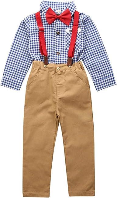 Traje para Niño Formal 3 Piezas 1 Camisa Mangas Largas ...