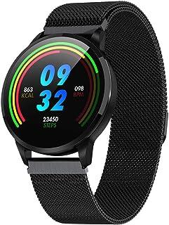 SmartWatch Reloj Inteligente Atletas Hombres Y Mujeres Reloj Inteligente Y PodóMetro De Seguimiento Reloj Inteligente Deportivo Mujer Hombre Compatible con iOS Android