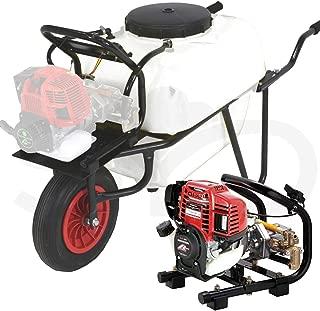 Carretilla fumigadora 100L. con motor Honda GX35