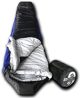 Wolftraders LoneWolf +0 Degree Premium Lightweight Mummy Sleeping Bag with Xfil
