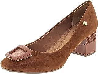 Sapato Feminino Salto Médio Via Scarpa - 127012186 Caramelo