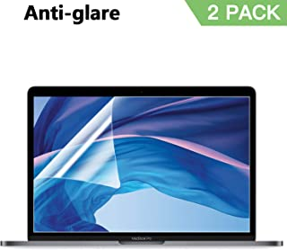 Anti Glare(Matte) Screen Protector Compatible with MacBook Pro 15 Inch Model A1707 A1990, 2 Pack Mac Pro 15 Screen Protector