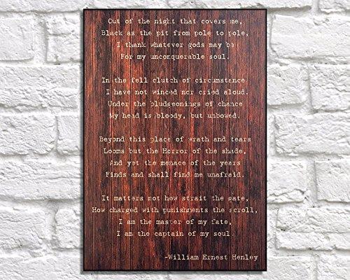 Wood Plaque Regalo de Graduación universitaria para Él de Madera Arte Poema Impresión Poema Poema Poema Arte Graduación Regalo para Hombres Regalo para Hijo Panel Efecto Madera Arte 11 x 11,5