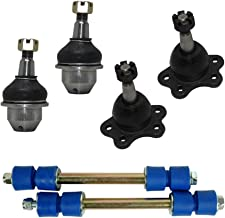 4x4 Models Only - New Complete 6-Piece Front Suspension Kit Chevrolet & GMC Truck's 4WD/4x4-10-Year Warranty- All (4) Front Upper & Lower Ball Joints w/45.79mm Stamped Arm