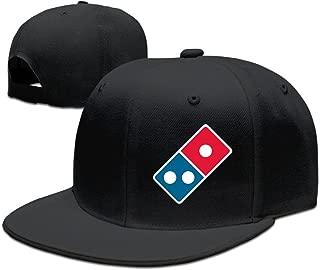 Ancatt Dominoâ€s Pizza Logo Adjustable Snapback Cap Baseball Flat Hats