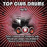 Top Club Drums Vol.2 - Oltre 2500 campioni di batteria fresca e 700 loop di batteria|Apple Loops/ AIFF (24Bit) DVD non BOX|IT