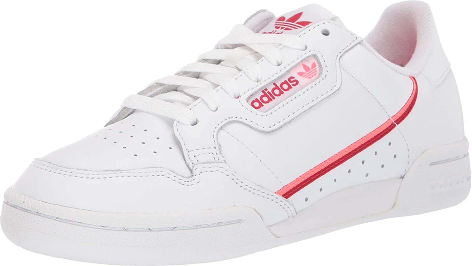 Inscribirse Frente al mar semestre  Amazon.com | adidas Womens Continental 80 Lace Up Sneakers Shoes Casual -  White | Shoes