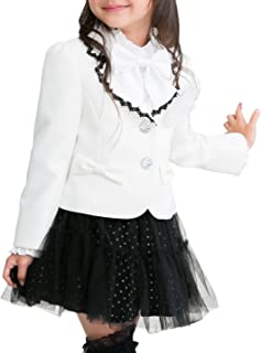 (アリサナ)arisana ララ 入学式 卒園式 スーツ 女の子 (ジャケット+スカート+コサージュの3点セット)