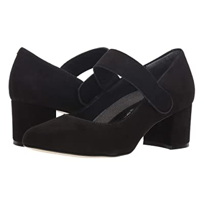 Walking Cradles Jackie-2 (Black Kid Suede) Women