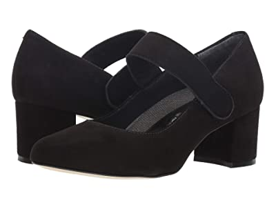 Walking Cradles Jackie-2 (Black Suede) Women