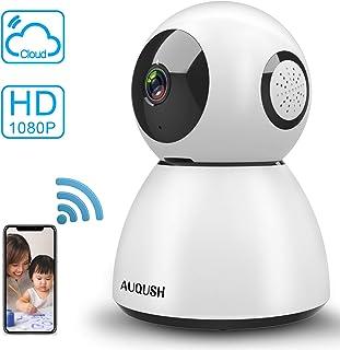 AUQUSH ネットワークカメラ ホームモニタリングシステム 1080P 200万画素 XURJSQ-A