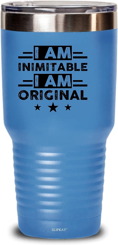 I Am store depot Inimitable An Original Tumbler Gifts 30oz