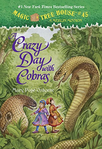 A Crazy Day with Cobras (Magic Tree House (R) Merlin Mission)の詳細を見る