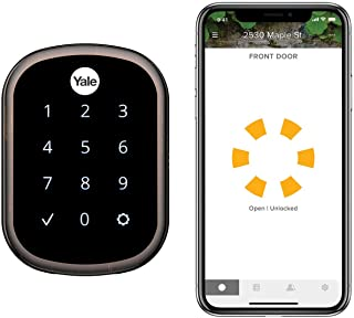 Yale Assure Lock SL, Wi-Fi Smart Lock - Works with the Yale Access App, Amazon Alexa, Google Assistant, HomeKit, Phillips Hue and Samsung SmartThings, Oil Rubbed Bronze