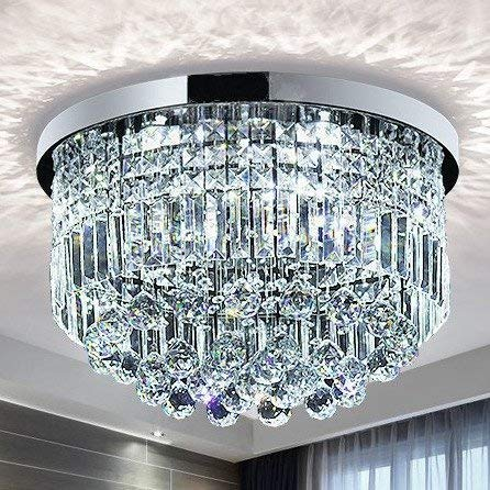 Saint Mossi Modern K9 Crystal Raindrop Chandelier...