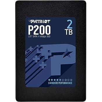 """Patriot P200 2TB 2.5"""" SATA III Internal SSD/Solid State Drive - P200S2TB25"""
