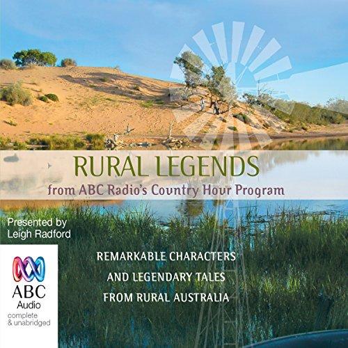 Rural Legends audiobook cover art