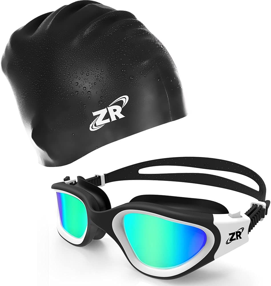 ZIONOR G1 Financial sales sale Polarized Swim 70% OFF Outlet Goggles with C3 for Short Cap hair