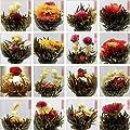 Hunt Or Lot de 10Une Contenu du hasard Thé Vert chinois artistique Blooming fleurs fleurie Thé