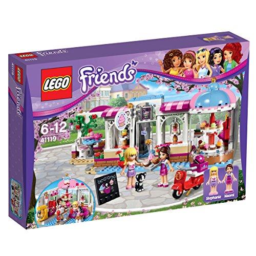 LEGO Friends 41119 - Heartlake Cupcake-Café, Spielzeug für 6 Jährige
