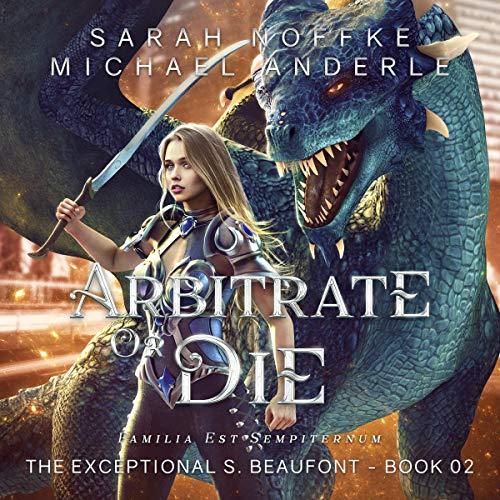 Diseño de la portada del título Arbitrate or Die