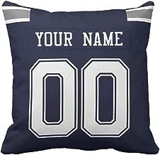 Custom Football Personalized Decorative Throw Pillow 18
