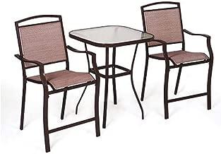 mainstays sand dune 3-piece outdoor bistro set, seats 2