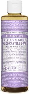 Dr. Bronner's - Pure-Castile Liquid Soap (Lavender, 8 Ounce)