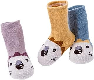 Babysocken ABS Socken f/ür 1-3 J Antirutsch Fu/ßsocken f/ür Baby M/ädchen und Jungen 12-36 Monate TKB7000 Fu/ßabdruck Motiv Anti Rutsch Socken TUKA 3 oder 6 Paar Set 3 Paar // 6 Paar