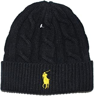 Generic Beanie Skull Cap Hip Hop Lambs Wool Men Women Polo Color Knit Winter Ha