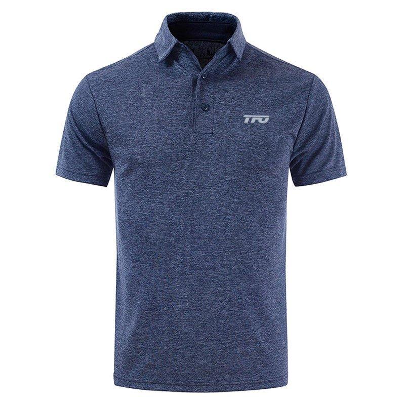 後半の価格THE FIRST OUTDOORアウトドアレジャーポロシャツ速乾性のTシャツ速乾性の服男性半袖弾性通気性縮小非変形フィットネススポーツウェアビジネスカジュアルウェア(スリムバージョン、大きなコードを作るためのルーズアドバイスのような)オンラインカスタマーサービス(WeChat):TFCLUB