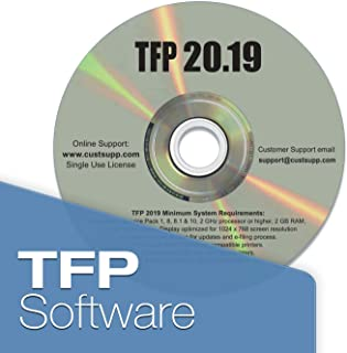 tfp 2018 software