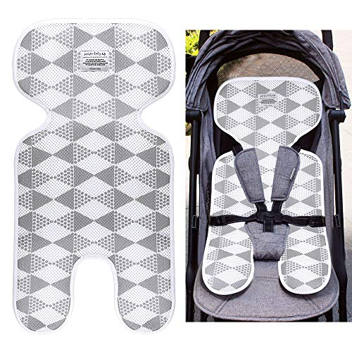 Locisne Universal atmungsaktiv coole komfortable Kind Matte Kissen Neugeborenen Kleinkind Baby Seat Liner für Kinderwagen, Kinderwagen, Kinderwagen, Buggy, Autositz