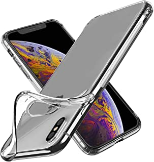 Cafele Slim Clear Soft TPU Case Compatible with iPhone Xs Max 2018 Released (6.5 inch) - [Shock Absorption