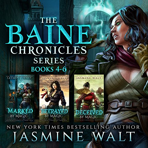 The Baine Chronicles Series, Books 4-6: Marked by Magic, Betrayed by Magic, Deceived by Magic (The World of Recca Boxed Sets Book 2) audiobook cover art