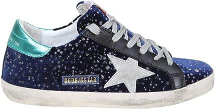 Golden Goose Women's Sneakers Superstar Velvet Glitter Rain G35WS590.P24