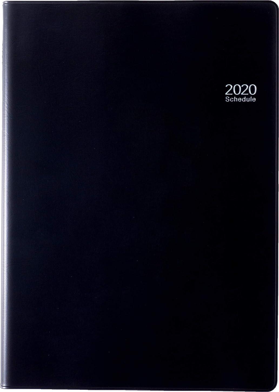 マイクロ鮮やかなメナジェリー高橋 手帳 2020年 B5 ウィークリー デスクダイアリー 黒 No.94 (2019年 12月始まり)