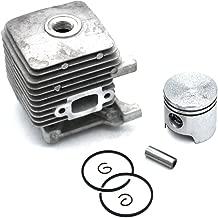 Cylinder Piston Kit 34MM for Stihl BT45 Auger FC55 FC55Z FC55DZ FS38 FS45 FS46 FS55 Brushcutter HL45 HL45Z HL45-DZ HS45 HS45Z KM55 KM55C-E KM55RC-E KM55C KM55RC KM55R MM55 PN 4140 020 1202