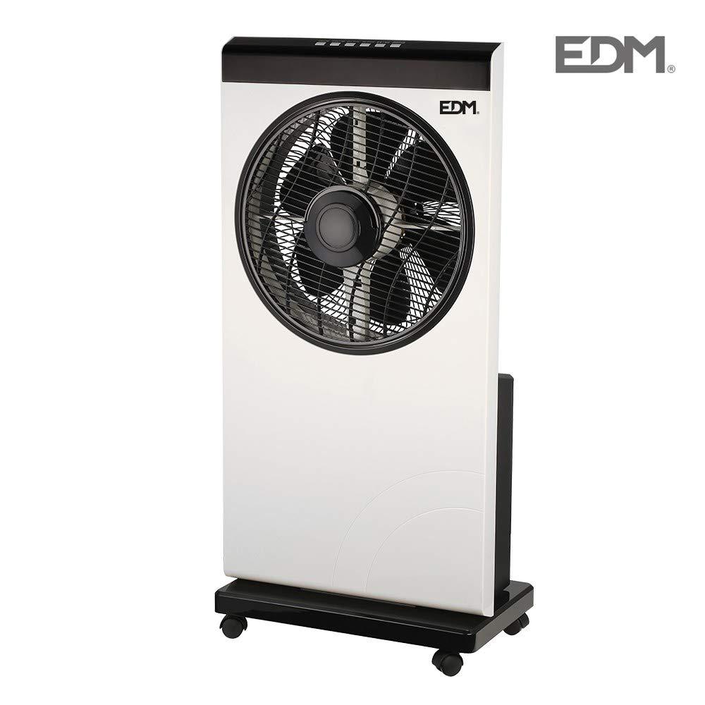 Ventilador nebulizador con programador 80W EDM: Amazon.es: Grandes ...