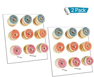 donut wall on easel