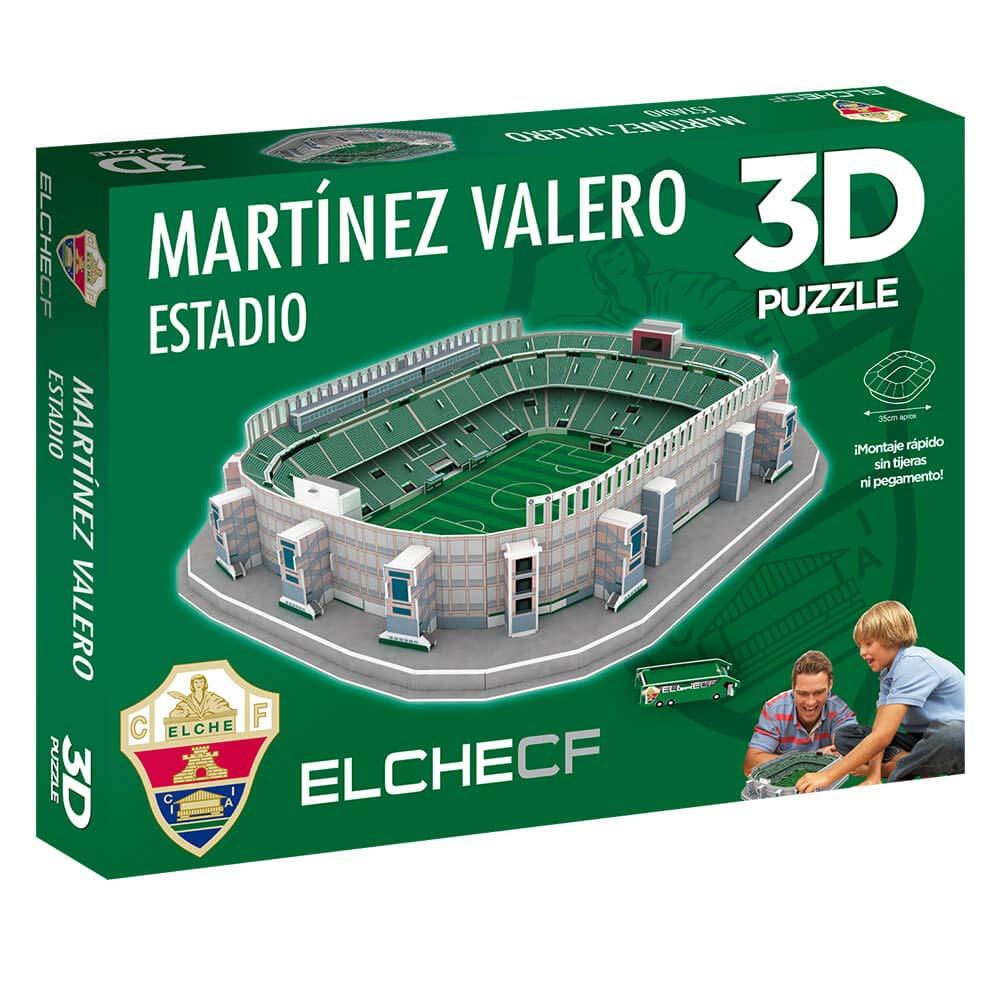 Eleven Force Puzzle 3D Estadio Martínez Valero (Producto Oficial Elche CF) (98 Piezas Aprox.): Amazon.es: Juguetes y juegos