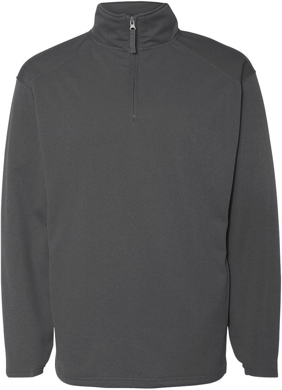 Badger 1480 1/4 Zip Poly Fleece Pullover