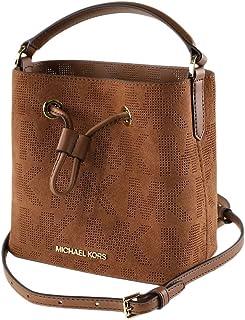 Michael kors Suri Small Logo Perforated Suede Crossbody Bag