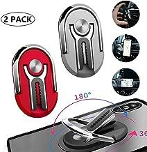 Multipurpose Phone Ring Holder - 360° Rotation Metal Ring Grip - Mobile Phone Bracket Holder, Rotation Phone Ring Holder Finger Kickstand for Magnetic Car Mount with All Smartphone for Car