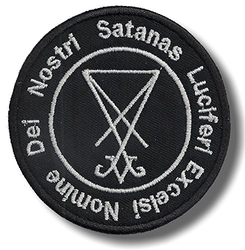 Lucifer excelsi - embroidered patch, 8 X 8 cm.