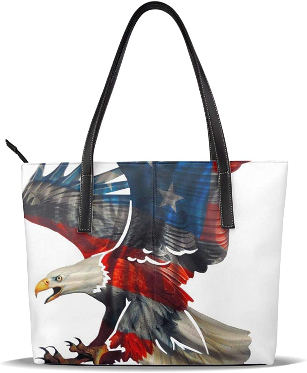 Eagle American Flag Patriot 4 Colorado Springs Mall July Pu mart Leather Ca Pattern Printed