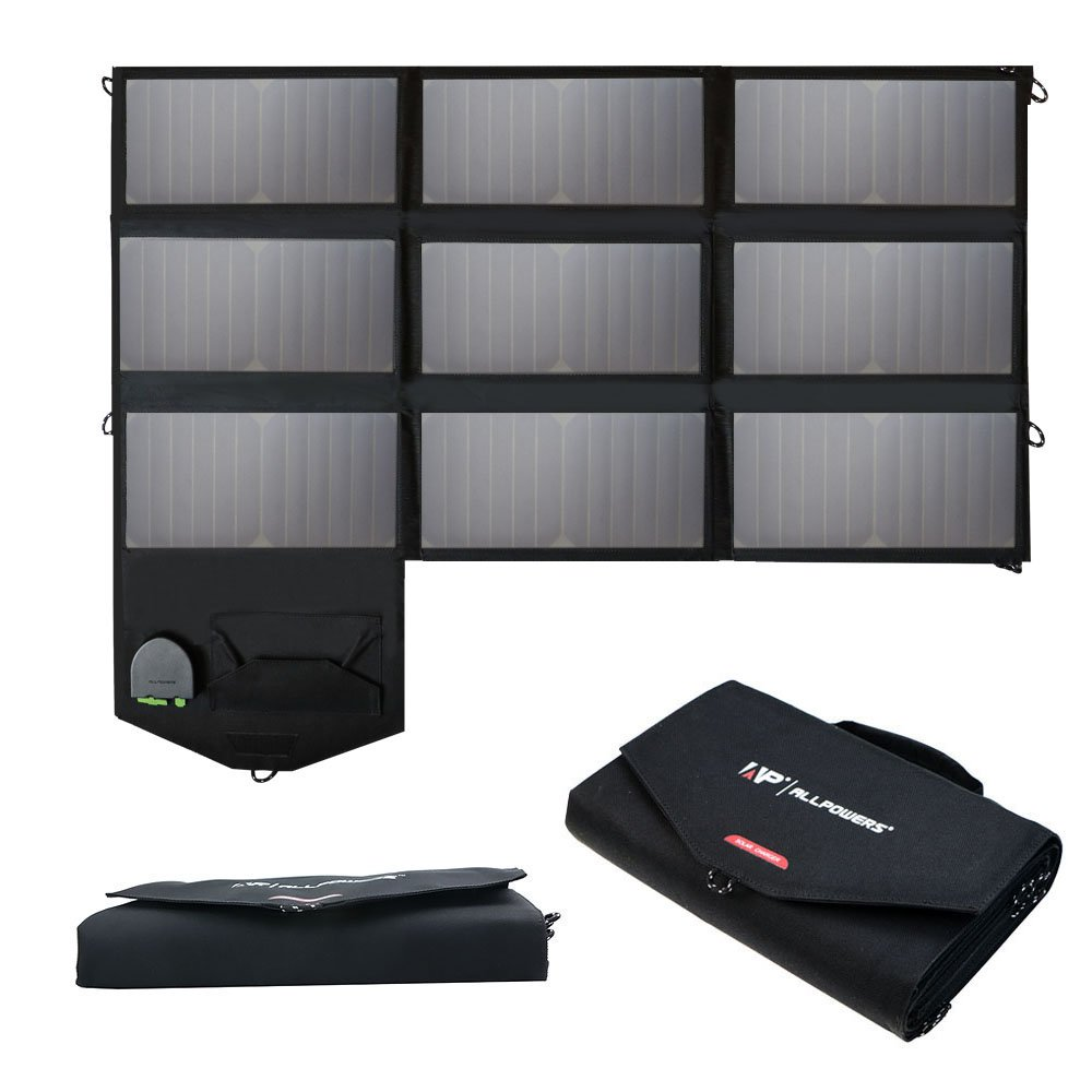 ALLPOWERS Foldable SunPower Charger Technology